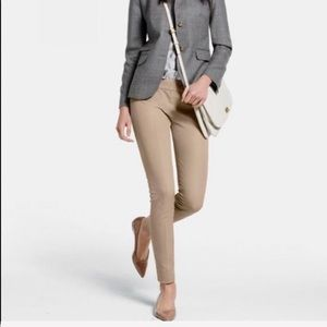 J. CREW Minnie pants in stretch twill